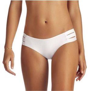 Vitamin A Emelia Triple Strap White Bottom NWOT L